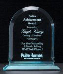 Arch Series Acrylic Award on Acrylic Base. Acrylic Awards | Acrylic Trophies