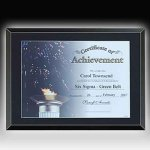 Glass Certificate Plaque Acrylic Awards | Acrylic Trophies