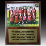 Team Photo Plaque Acrylic Awards | Acrylic Trophies